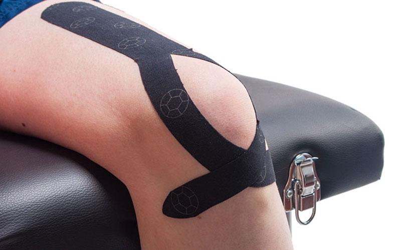 Taped-knee